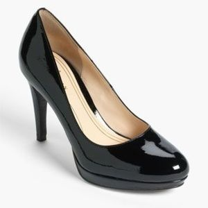 Cole Haan Black Patent Leather Heels